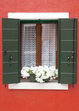 Burano window Royalty Free Stock Images
