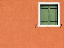 Burano window Royalty Free Stock Photography