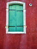 Burano window Stock Images