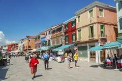 burano wyspa Italy Venice Obrazy Stock