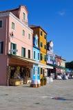 burano wyspa Venice Zdjęcia Stock