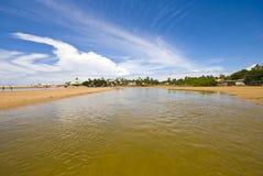 Buraquinho Beach Stock Image
