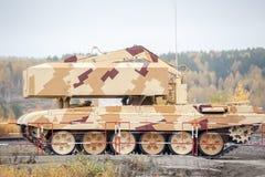 Buratino装货运输 TOS-1A系统 俄国 免版税库存照片
