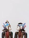 Burattini dell'indonesiano di Wayang Golek Fotografia Stock Libera da Diritti
