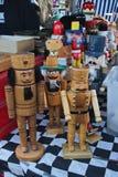 Burattini delle schiaccianoci ed altre marionette Fotografia Stock
