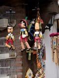 Burattini a Mijas una di villaggi 'bianchi' più bei Fotografia Stock Libera da Diritti