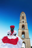 Burattino cubano del negro Fotografie Stock