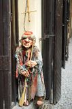 Burattino a Praga Fotografia Stock Libera da Diritti
