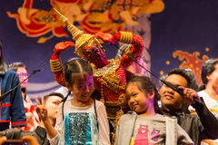 Burattino tradizionale tailandese Immagine Stock Libera da Diritti