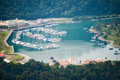 Burau Bay Marina Langkawi Royalty Free Stock Photography