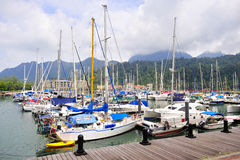 Burau Bay Marina Langkawi Royalty Free Stock Images