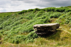 Burbage valley Stock Image