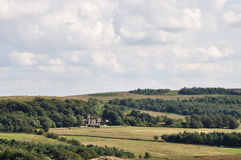 Burbage valley Royalty Free Stock Photo