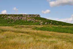 Burbage valley Royalty Free Stock Images