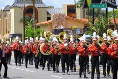 Burbank en desfile Foto de archivo libre de regalías
