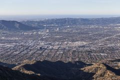 Burbank, Hollywood du nord et Los Angeles Photos libres de droits