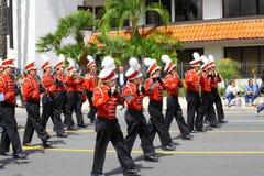 Burbank op Parade Stock Foto's