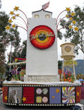 burbank stadsfloat Royaltyfria Bilder