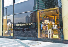 Burberry royaltyfri foto