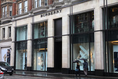 Burberry Stock Image