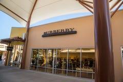 Burberry Lizenzfreies Stockfoto