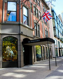Burberry, Boston, MA. Royalty Free Stock Images