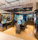 Burberry boutique at the Siam Paragon, Bangkok, Thailand Stock Image