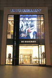 Burberry Shop Stock Photography