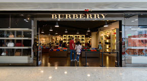 Burberry shop at City gate Outlet. HONGKONG - JUNE 15 :Burberry shop at City gate Outlet, JUNE 15, 2014,city gate outlet is owned by a consortium of Hong Kong's Stock Photography