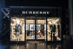 Burberry shop Melbourne Stock Photos