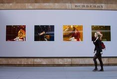 Burberry sklep fotografia royalty free