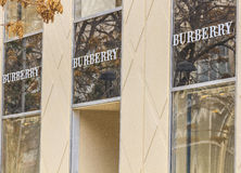 Burberry Stock Photography