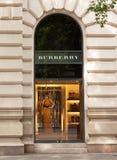 Burberry store, Budapest, Hungary Stock Photos