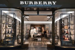 Burberry store at King of Prussia Mall in Pennsylvania Stock Photo