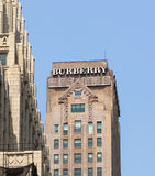Burberry Tower in Manhattan Stock Photography