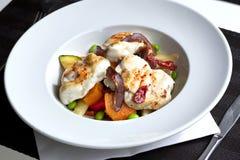 Burbot dish Royalty Free Stock Photos