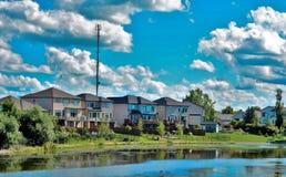 Burbscape места мы живем Стоковая Фотография RF