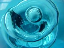 Burbuja azul Foto de archivo libre de regalías