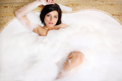 Burbuja-baño. Fotografía de archivo