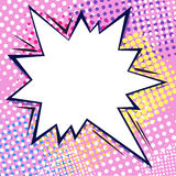 Burbuja cómica del diálogo Fotografía de archivo libre de regalías