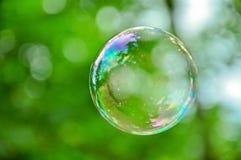 Burbuja de jabón Imagenes de archivo