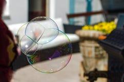 Burbuja de jabón fotografía de archivo