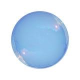 Burbuja de jabón aislada Imagenes de archivo
