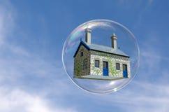 Burbuja de la casa Imagen de archivo
