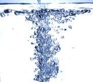 Burbuja del agua imagen de archivo libre de regalías