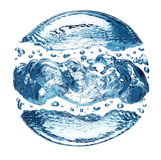 Burbuja del agua Foto de archivo