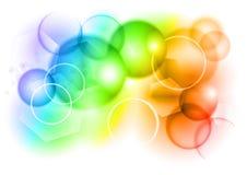 Burbuja del arco iris ilustración del vector