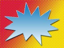 Burbuja del arte pop Fotos de archivo libres de regalías