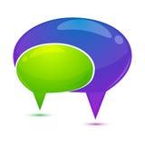 Burbuja del diálogo Foto de archivo libre de regalías