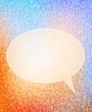 Burbuja del discurso Imágenes de archivo libres de regalías